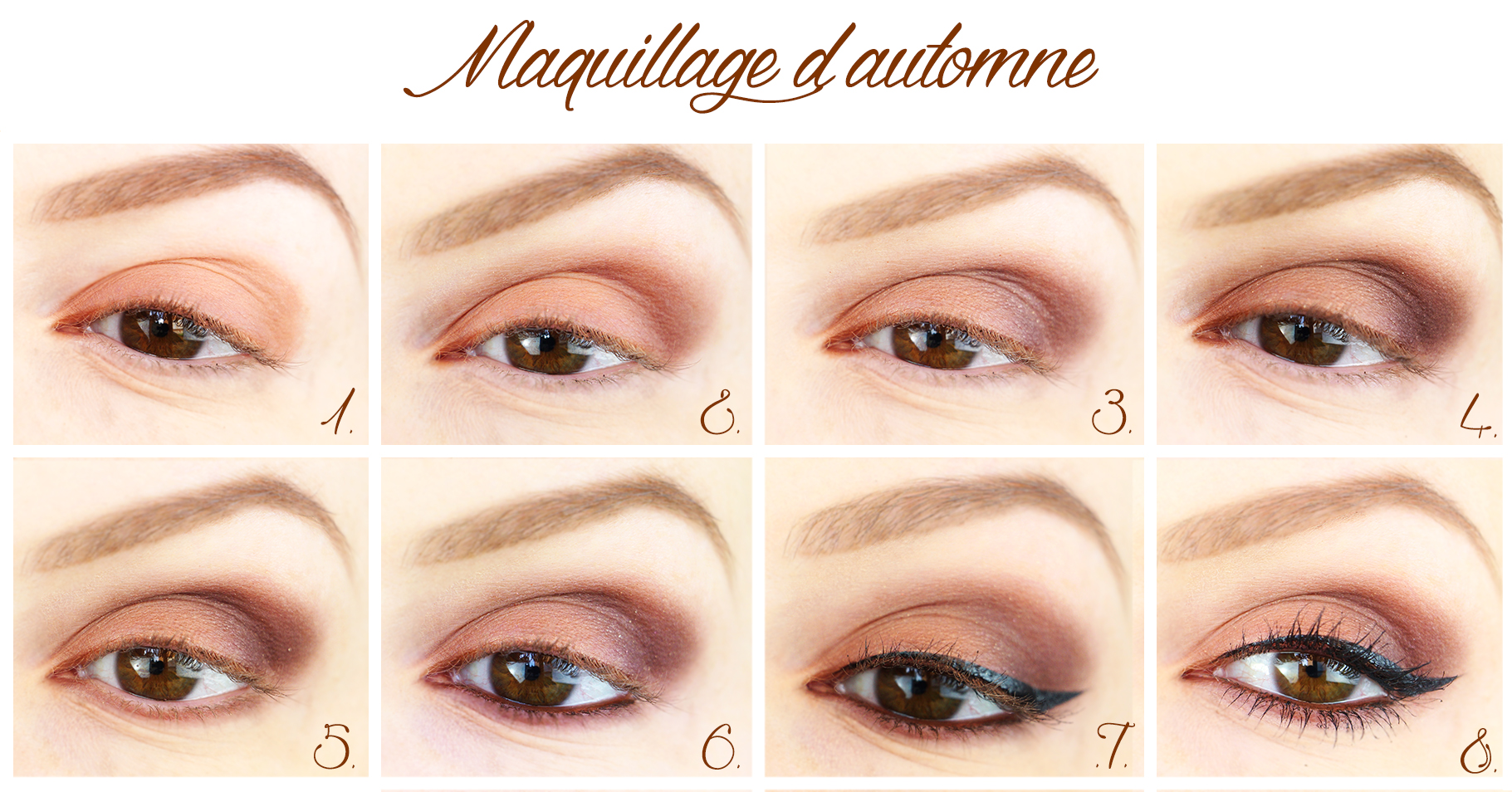 Tutoriel Makeup Automnal