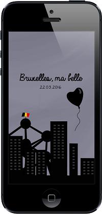 Bruxelles, ma belle - fond
