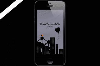 FOND D'ÉCRAN #6 – BRUXELLES, MA BELLE
