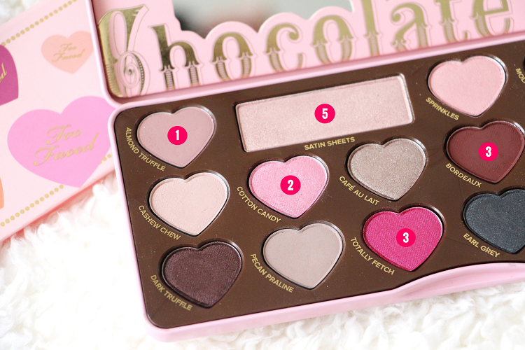 Palette Chocolat Bon Bons Tuto