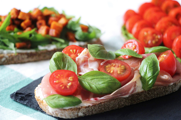 Tartine italienne
