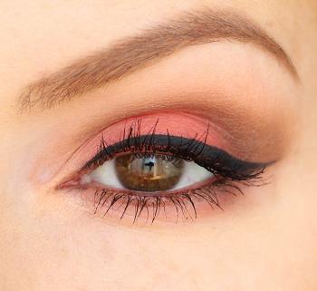 Makeup Oeil Sweet Peach