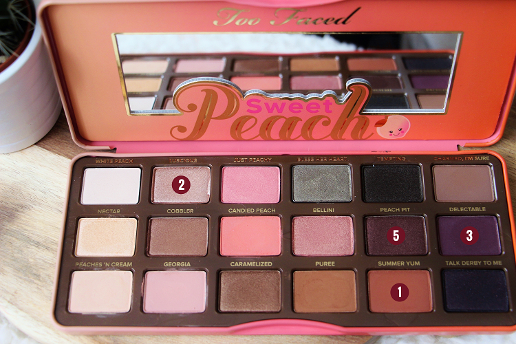 Palette Sweet Peach Fall in Love