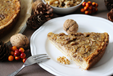 La tarte aux noix, ce savoureux dessert d'automne