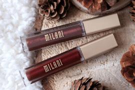 Milani rouges à lèvres métalliques Une