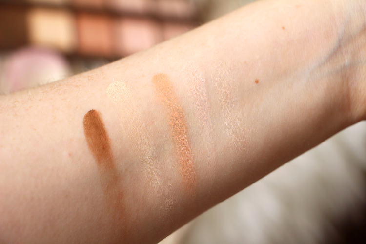 Swatch crèmes Naked Skin Shapeshifter