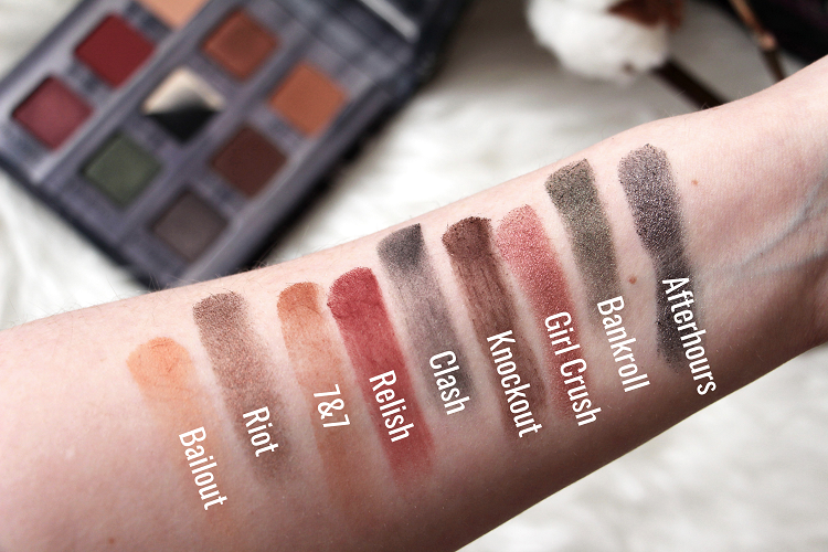 Swatches Palette Troublemaker Urban Decay