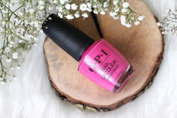Vernis OPI No Turning Back From Pink Street