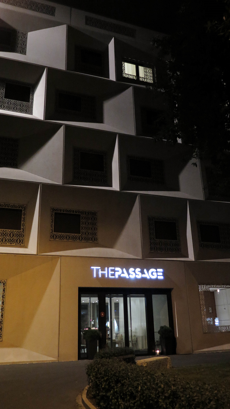 Devanture Hotel The Passage Bale
