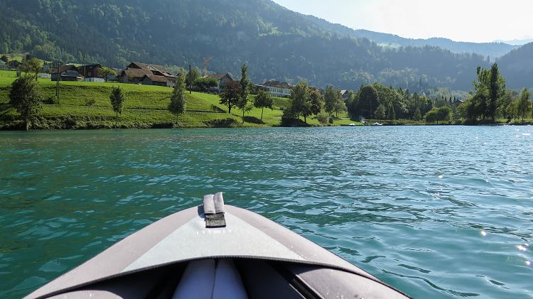 Kayak Lungern