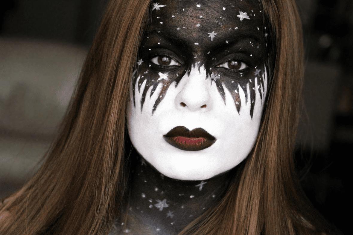 Maquillage Halloween Etoiles Galaxie